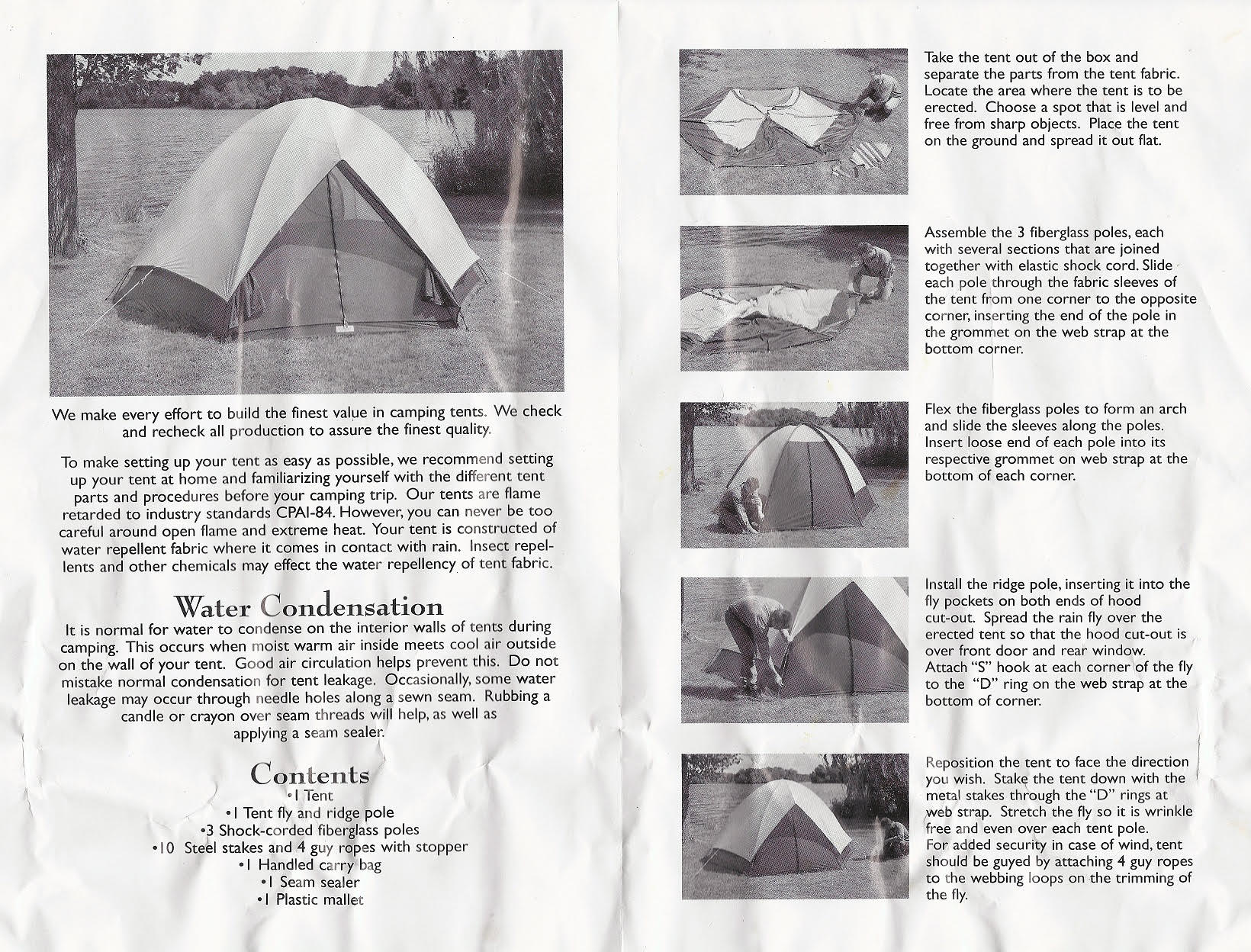 Greatland tent Instructions.  sc 1 st  My Favorite C&ing Store & ISU1977 Greatland Tent - Whereu0027s the dome?