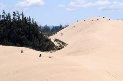 oregon dunes Camping