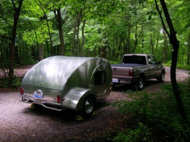 homemade camping trailers