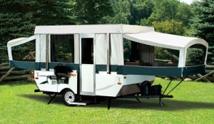 coleman camping trailers