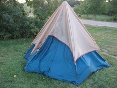 ISU1977 Greatland Tent - Where's the dome?